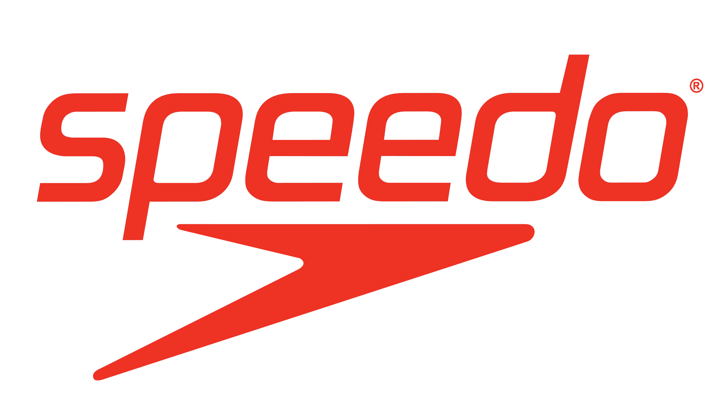 Speedo logotype logo emblem symbol red 1